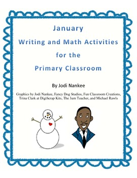 January Writing and Math Activities for the Primary Classroom