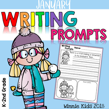 January Writing and Picture Prompts