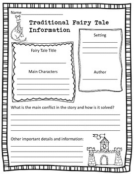 Fairy Tale Writing Lessons for 6th Grade