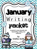 January Writing- helping students with handwriting and writing skills!