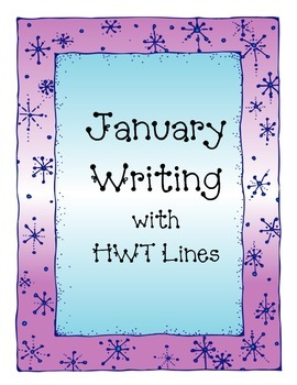 January Writing with HWT Lines