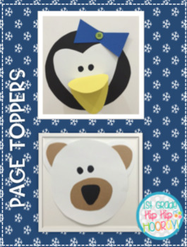 January Writing with Page Toppers...Simple crafts and Writing Activities!