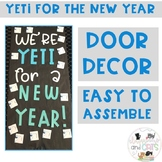 January Yeti bulletin board or door decor