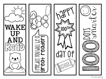 January and February Bookmarks