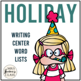 January and February Writing Center Lists