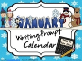 Journal Writing ~ January and Winter Writing Prompt Calendar ~