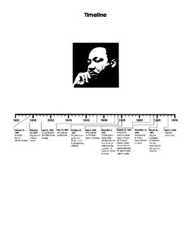 January bulletin board - Dr. Martin Luther King, Jr.