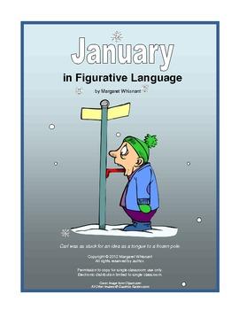 Figurative Language for January:  Simile, Metaphor, Personification, Hyperbole