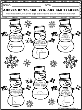 January in Fourth Grade (NO PREP Math and ELA Packet)