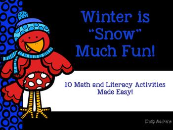 """Winter is """"Snow"""" Much Fun!"""