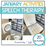 January Speech Therapy Monthly Themed | Ring in With Speech and Language