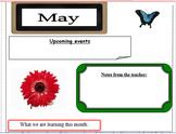 January through December Editable Classroom Newsletters