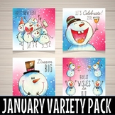 January variety pack