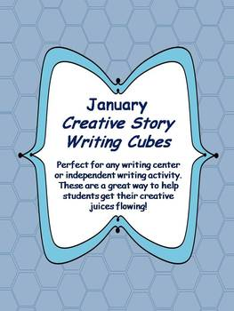 Januay Creative Story Writing Cubes