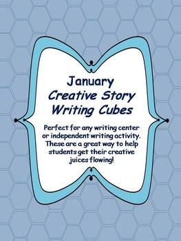 Januay Creative Story Writing Cubes