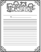 Janurary Writing Menu with Graphic Organizers & Publishing Paper! Freebie Inc.!