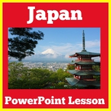 Japan | 1st 2nd 3rd 4th 5th Grade | PowerPoint Activity Le