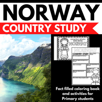 Norway Country Study Mini Book Unit