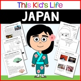 Japan Country Study: Reading & Writing + PowerPoint Distance Learning