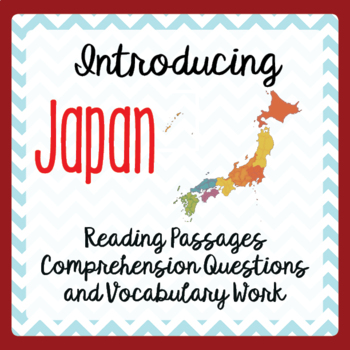 Japan Today, Informational Text, Activities