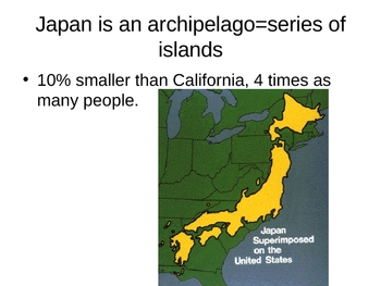 Japan:  A Geographical Journey Powerpoint