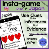 Japan Activity - Instagram (Editable Insta-game)