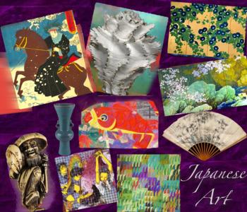 Japan Art History ~ FREE POSTER ~ Japanese Art