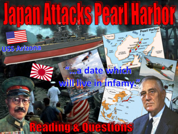Japan Attacks Pearl Harbor (December 7, 1941: A Date Which Will Live In Infamy)