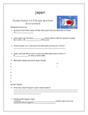 Japan Chapter 29 Section 3 Guided Notes