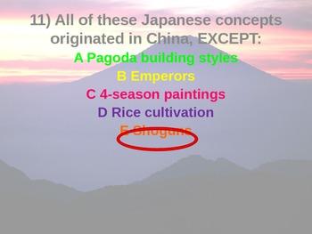 Japan Color-card Assessment