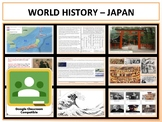 Japan - Complete Unit - Extended - Google Classroom Compatible