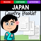 Japan Copywork, Activities, and Country Booklet
