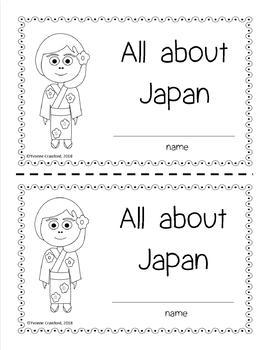 Japan Country Booklet - Japan Country Study - Interactive and Differentiated