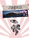 Japan Country Study Scrapbook