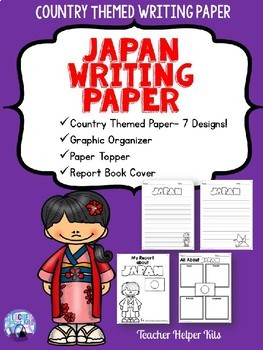 Japan Country Study- Writing Paper