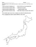 Japan Create-a-Map