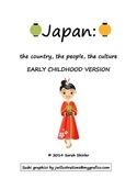Japan: Early Childhood Unit on the culture, country and people