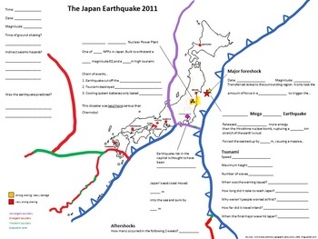 Japan Earthquake and Tsunami Lesson