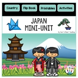 Japan Country Study: All About Japan Mini-Unit & Flip Book