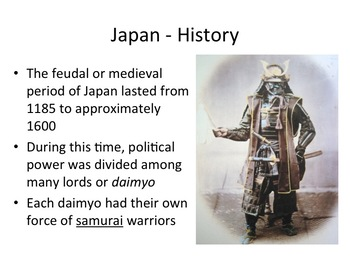 Japan Geography and History Powerpoint