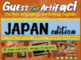 "Japan ""Guess the artifact"" game: engaging PPT with pictures, clues & answers"