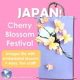 Japan! Hanami, Cherry Blossom Festival - Includes Sakura S