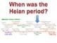 Japan Heian Period Lesson