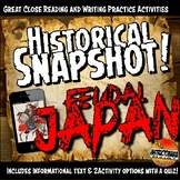 Japan Historical Snapshot Close Reading Investigation Acti