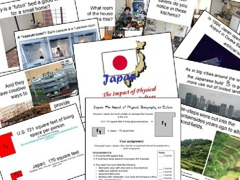 Japan: Impact of Physical Geography on Culture PowerPoint / Lesson