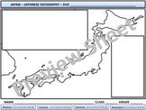 Japanese Geography - Homework
