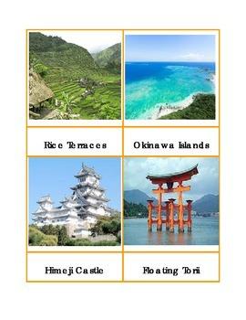 Japan Landmark Cards