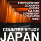 JAPAN Country Study Lesson Bundle: 3 PowerPoints, Printables, Game