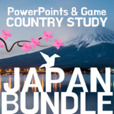 JAPAN Country Study: Bundle of PowerPoints and Game