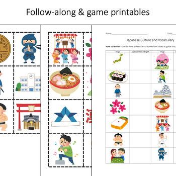 japan lesson culture vocabulary powerpoint printables karuta game cards. Black Bedroom Furniture Sets. Home Design Ideas